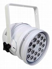 LED PAR64 18*3W RGB 三合一