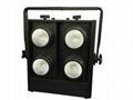 COB BLINDER 4x100W RGBW 2