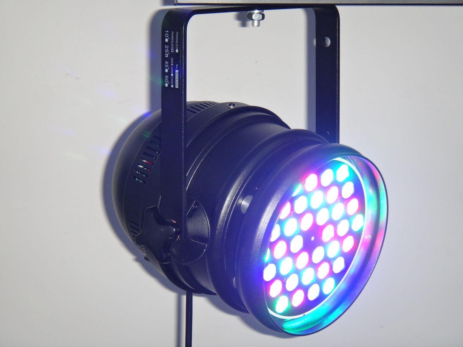 LED PAR64 36*3W RGB 2