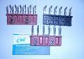 Sulzer P7100 guide tooth block- 6X6,4X4, sulzer cutter