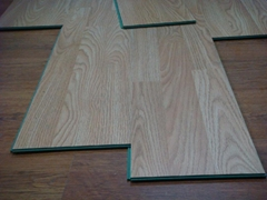laminate floor 8mm, foam underlay, and accessories