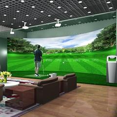 室內高爾夫高速攝像高清仿真模擬高爾夫