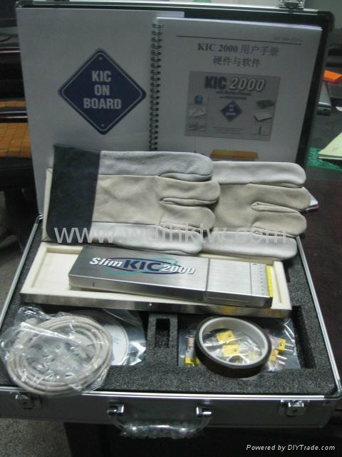 美國原裝KIC 2000爐溫曲線測試儀 2