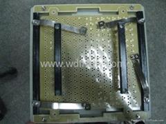 LEDP16全彩顯示屏過爐扶正治具