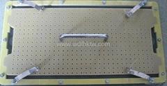 LEDP10顯示屏合成石錫錫膏製程過爐治具