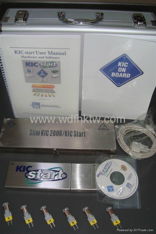 爐溫測試儀-美國KIC START六通道爐溫曲線測試跟蹤儀 1