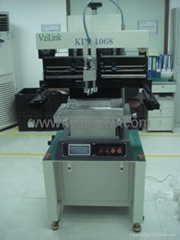 Semi-automatic high precision solder paste printer