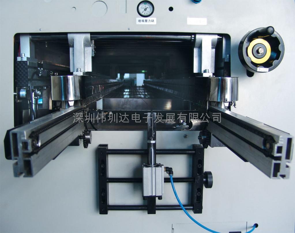 触摸屏式无铅双波峰焊锡炉 3