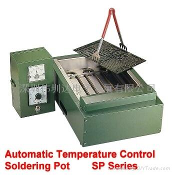 自動溫度控制-手浸式錫爐