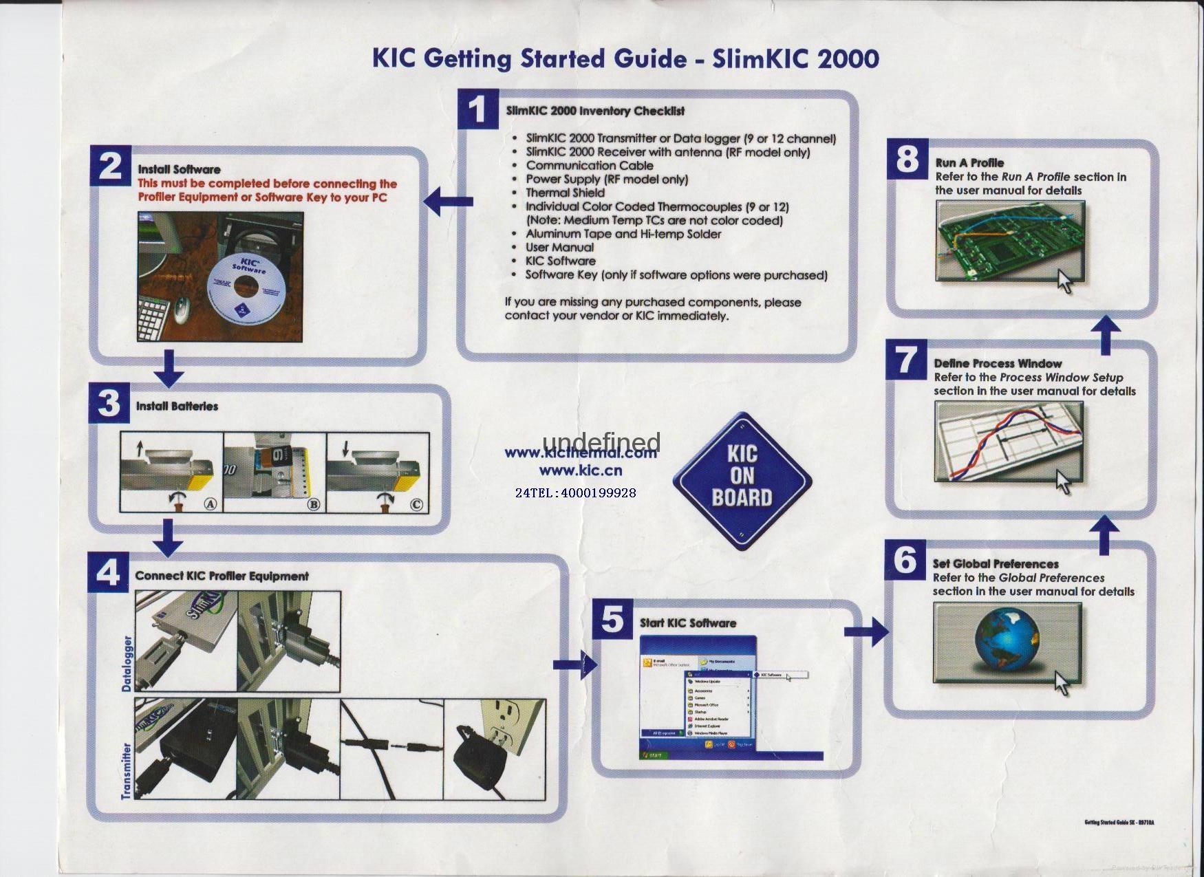 美國原裝KIC 2000爐溫曲線測試儀 11