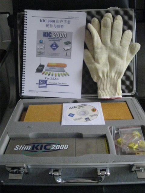 美国原装KIC 2000炉温曲线测试仪 1
