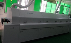 Double track, double speed, 10-temperature lead-free reflow soldering