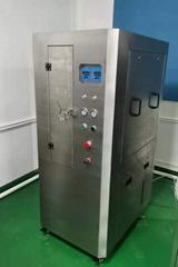 Full pneumatic steel mesh cleaning machine
