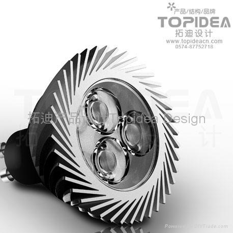 LED手电筒应急灯 3