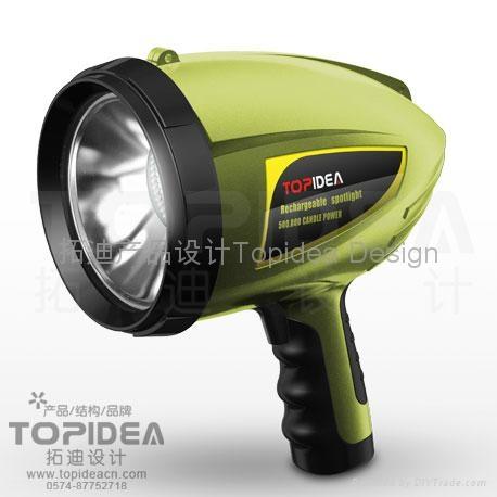 LED手电筒应急灯 4