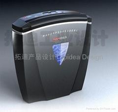paper shredder design