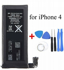 Iphone 4 4g 1420mAh Genuine Li-ion Mobile Phone  Replacement Backup Battery