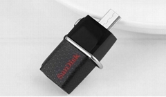 SanDisk Ultra Dual USB 3.0 Drive SDDD 64gb Transfer Files Easily from Your phone
