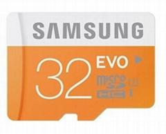 Samsung C10 EVO Micro sd/sdhc card /TF 32GB microSD Card max read speed to 48mb