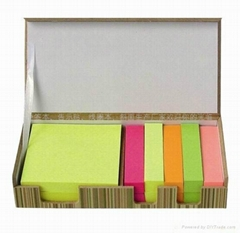 sticky note memo pad