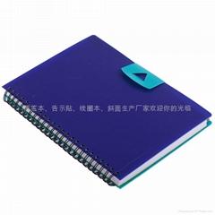 线圈本 笔记本 告示贴