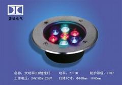 生产大功率LED地埋灯