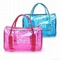 Fashion Summer Beach Bag Outdoor Waterproof Clear Transparent PVC Cosmetics Bag