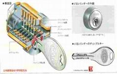 日本高档GOAL V18锁具