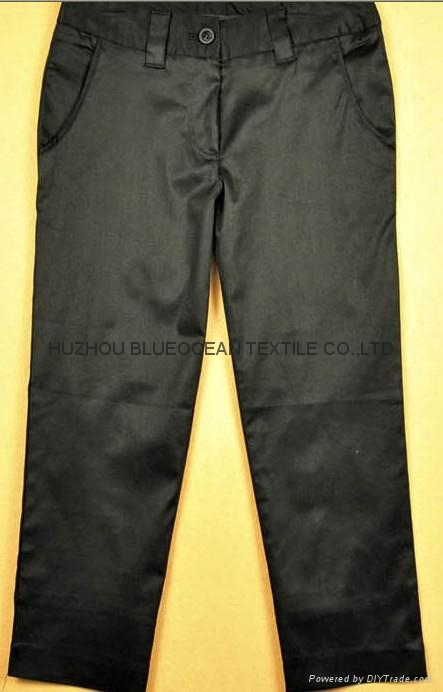 plain dyed cotton/spandex twill pants fabric twill suit fabric 16x16+70d/120x40 1
