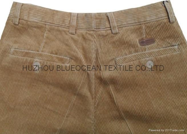 plain dyed cotton corduroy pants corduroy suits fabric 11w 12x16