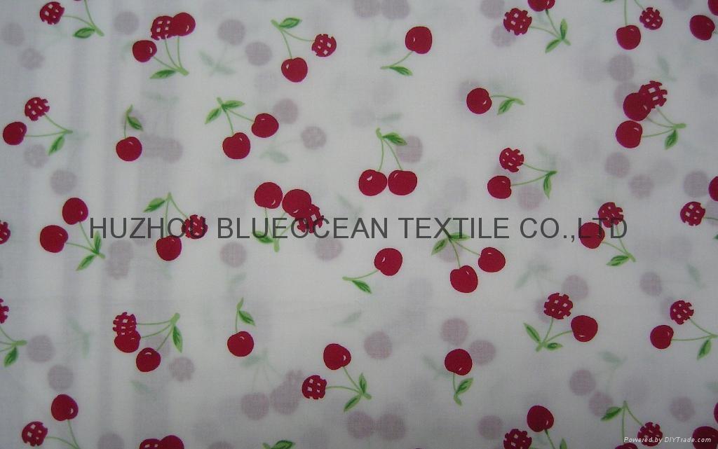printed cotton poplin fabric poplin dress fabric poplin shirt fabirc40x40/110x70 2