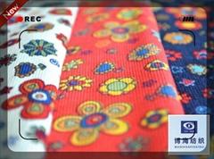 14w printed corduroy fabric sale stripe