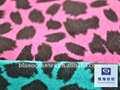 Cotton Ve  eteen Fabric With Leopard