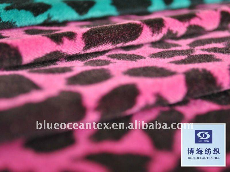 Cotton Ve  eteen Fabric With Leopard Print  4