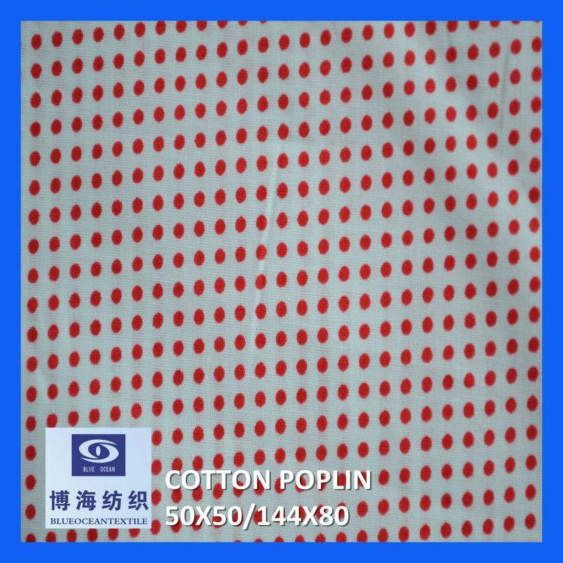 全棉印花府綢 50x50/144x80    5