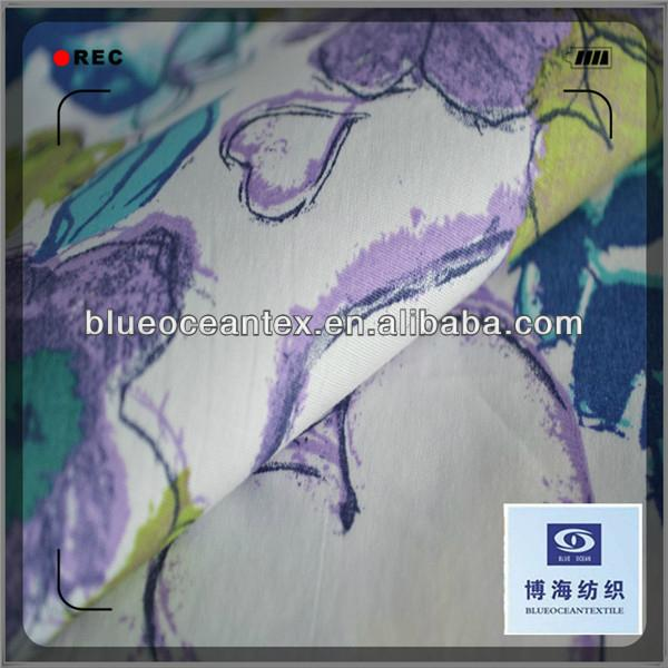 Cotton Printed Poplin Fabric for Skirt 40X40/133X100 3