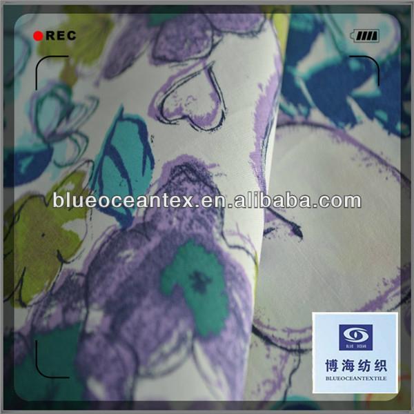 Cotton Printed Poplin Fabric for Skirt 40X40/133X100 6