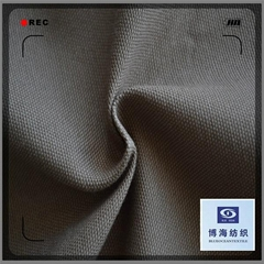 High quality 100% cotton canvas fabric