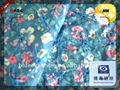 wholesale 100% cotton fabrics swiss voile with embroidery