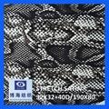 98% cotton 2% spandex printed satin fabric 32x32+40d/190x80