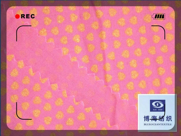 全棉印花紗卡40x40/133x72 3
