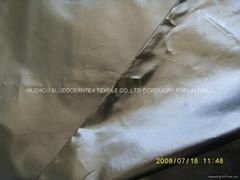 300T 尼丝纺 染色 镜面涂层