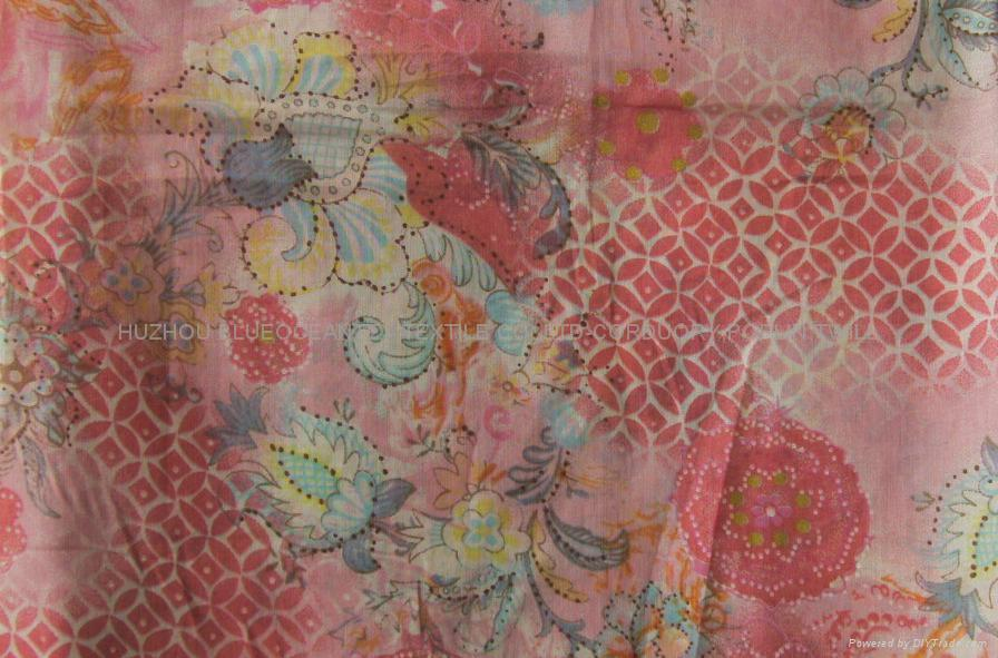 COTTON PRINTED VOILE 60X60/90X88 5