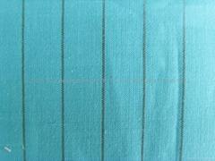 棉麻色織布  60/2x21 68x66