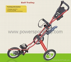 Golf push cart