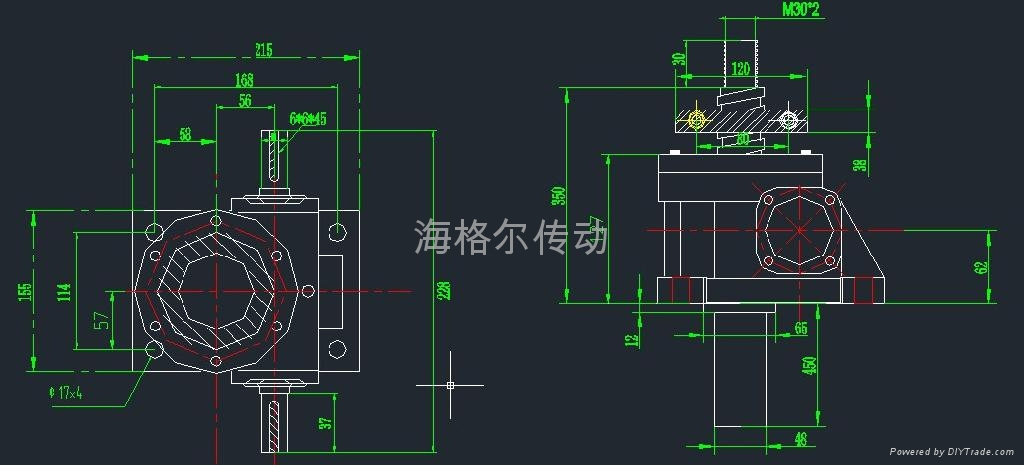丝杆升降机 不锈钢 蜗轮减速机 蜗轮丝杆升降机 3