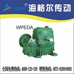 WPEDA  Ddouble worm reducer(OEM MANUFACTURE)