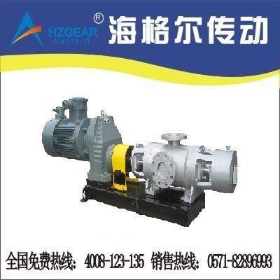 雙吸雙螺杆耐腐蝕泵專用減速機 1