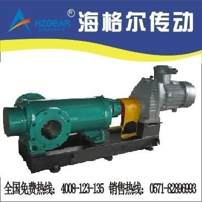 雙吸雙螺杆耐腐蝕泵專用減速機 2