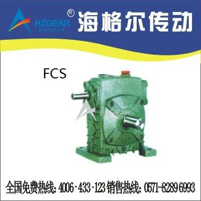 FCS Worm Gear Speed Reducer 1
